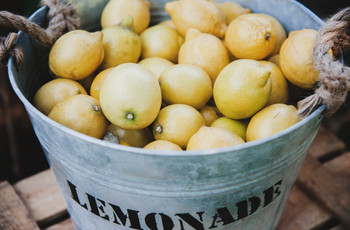 Ideas para decorar vuestra boda con limones