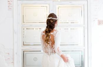 Peinados con trenzas: 50 propuestas para novias con estilo