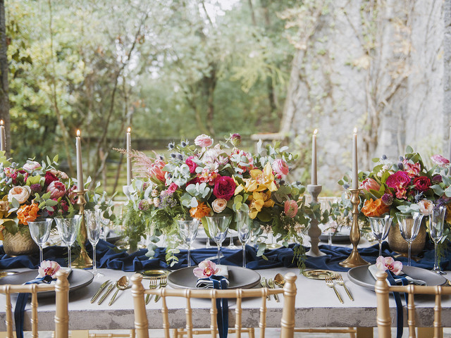 Centros de mesa para bodas de primavera