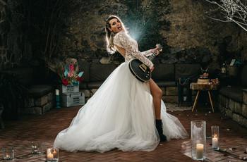 ¿Os apetece celebrar una boda rockera? Os mostramos toda la inspiración que estáis buscando
