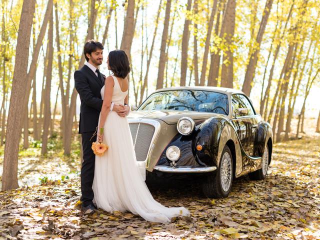 8 increíbles (y espectaculares) propuestas en vehículos de boda para vuestra llegada al banquete nupcial