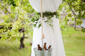 ¿Cómo servir la cerveza el día de la boda?