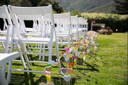 ¡Romántico 100%! Cómo decorar la boda con corazones de principio a fin
