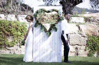 35 ideas para vuestro 'photocall' de boda