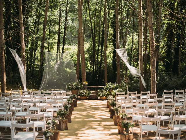 Una boda en el bosque... o cómo llenar de magia el día B