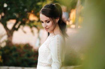 Coletas para bodas: peinados llenos de estilo