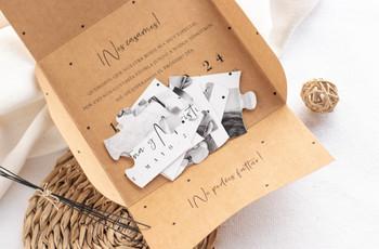 Invitaciones de boda originales: ¡no os perdáis estas 25 propuestas!