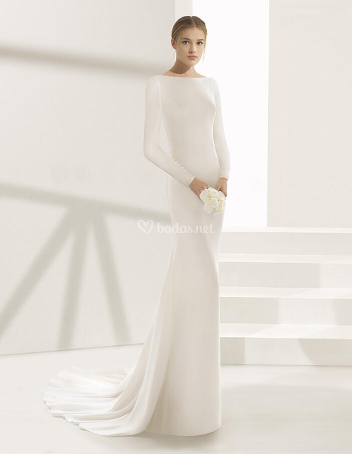 vestido de novia de rosa clará - dylan