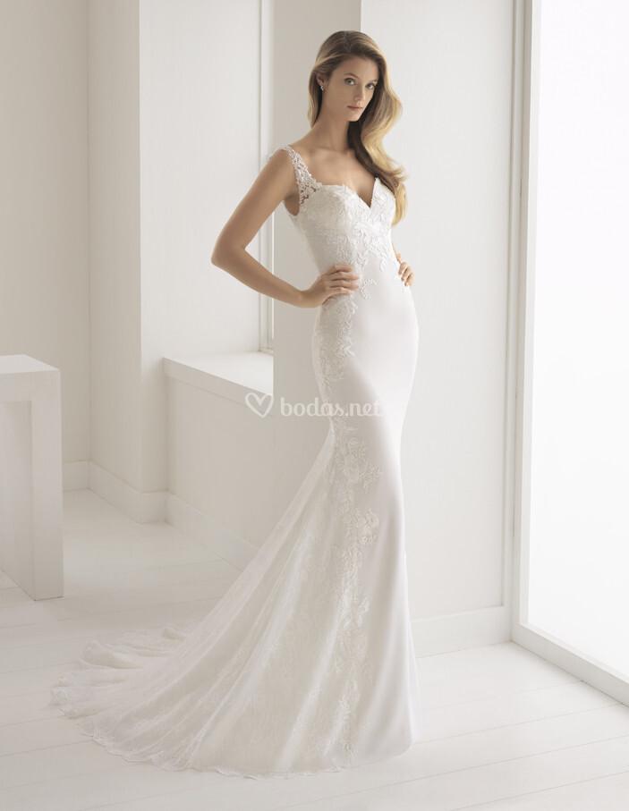 vestido de novia de aire barcelona - buleria