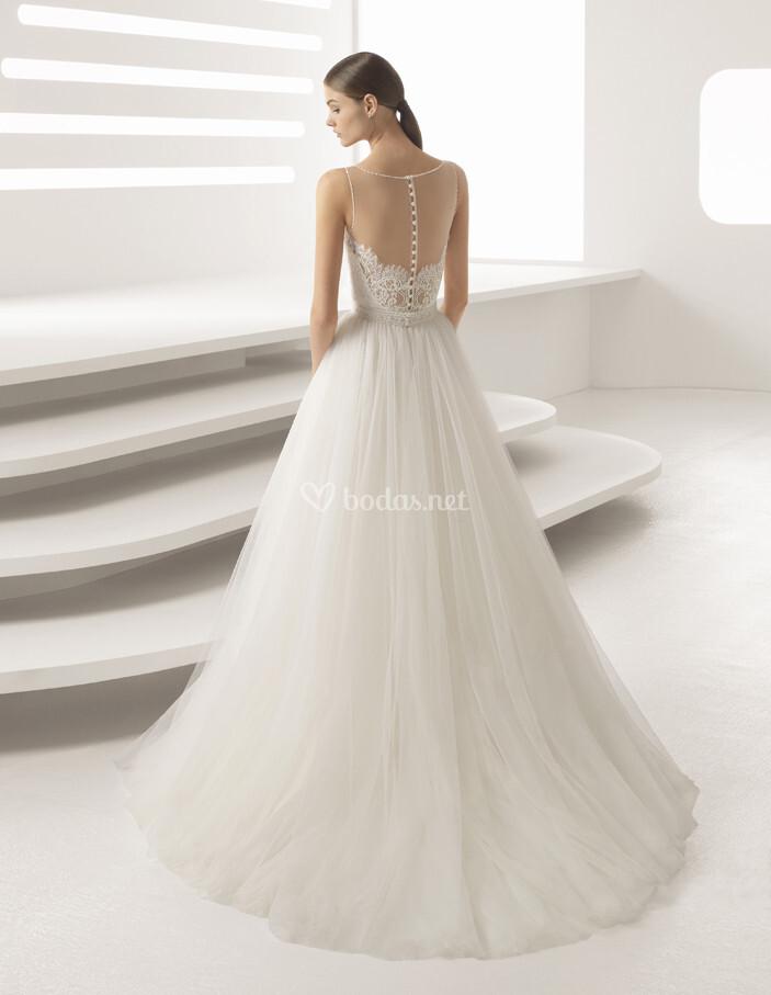 vestido de novia de rosa clará - agata