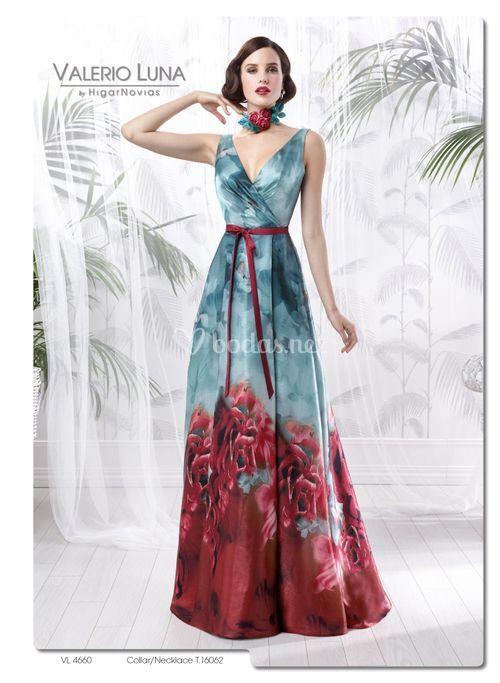 Vl 4660 vestido de fiesta valerio luna for Modelo cordobesa
