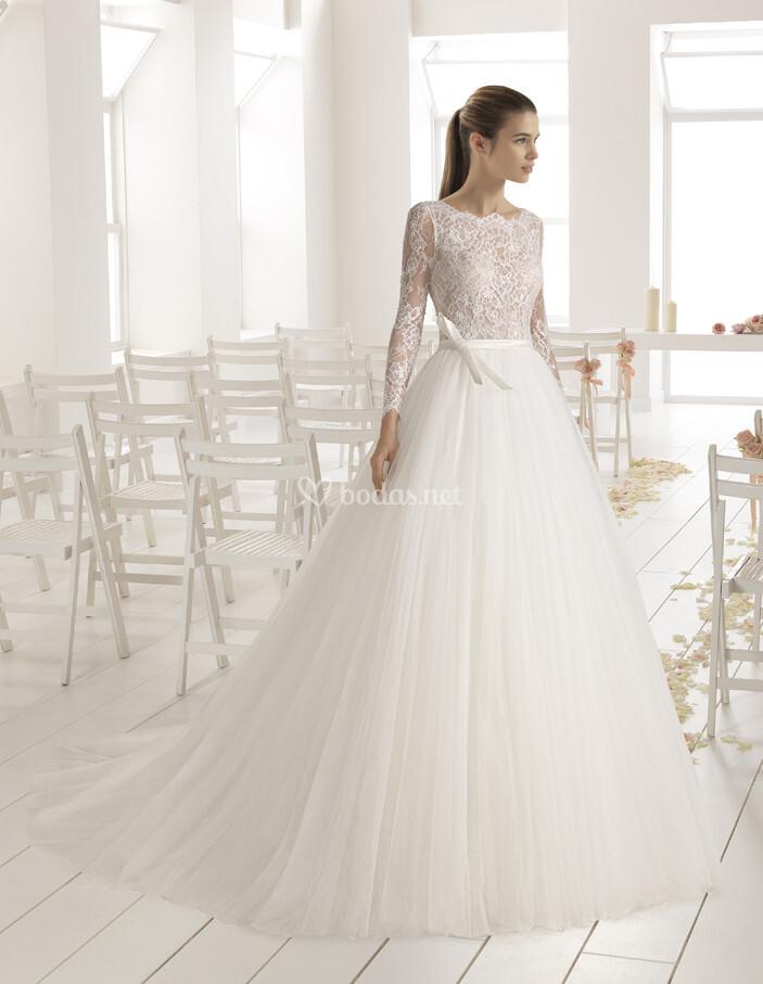 vestido de novia de aire barcelona - bambu