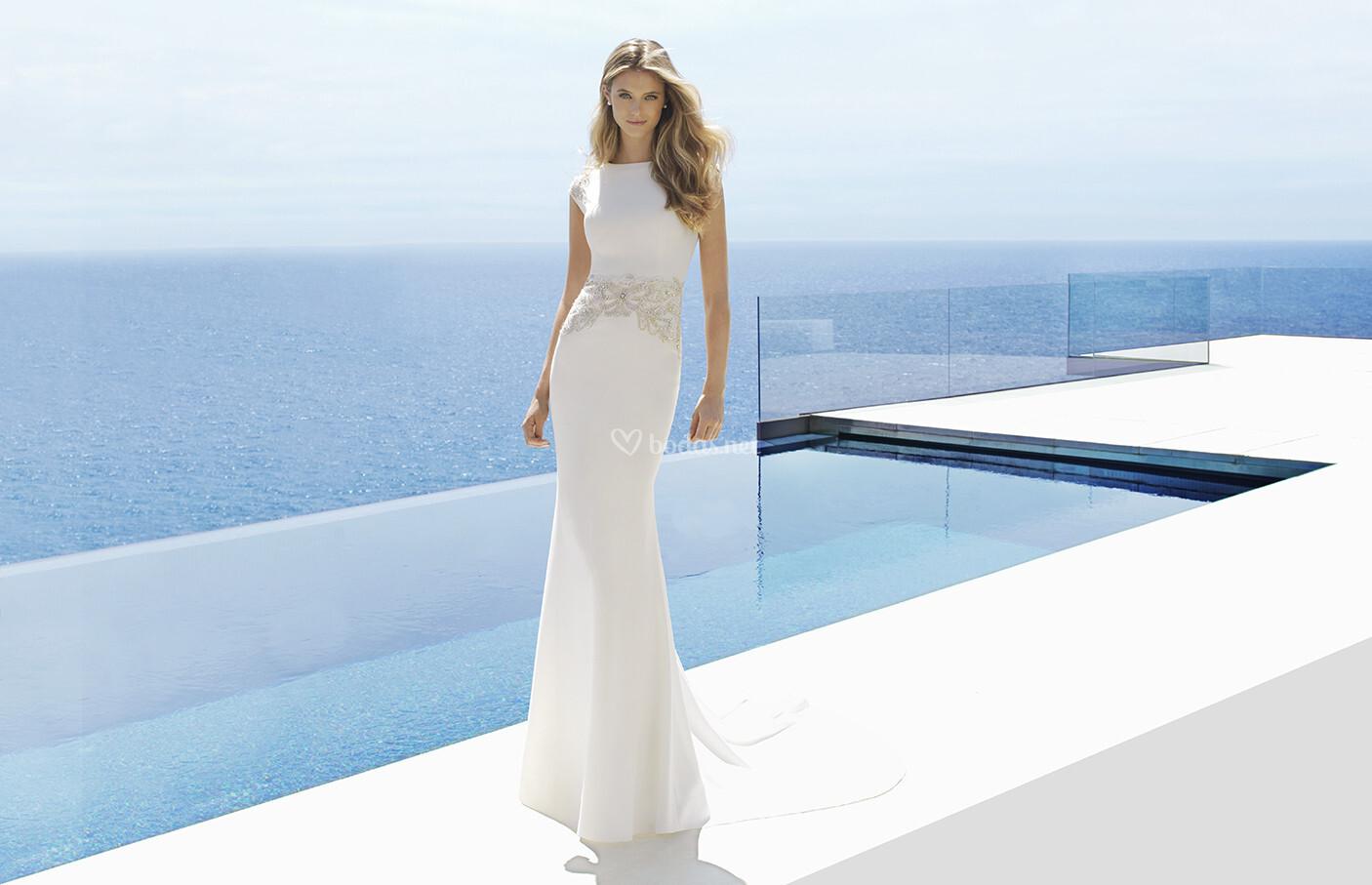 Dorable Vestido Novia Aire Composition - Womens Dresses & Gowns ...
