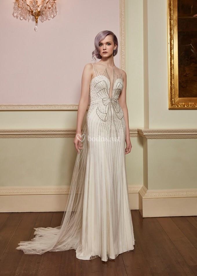 vestido de novia de jenny packham - beau