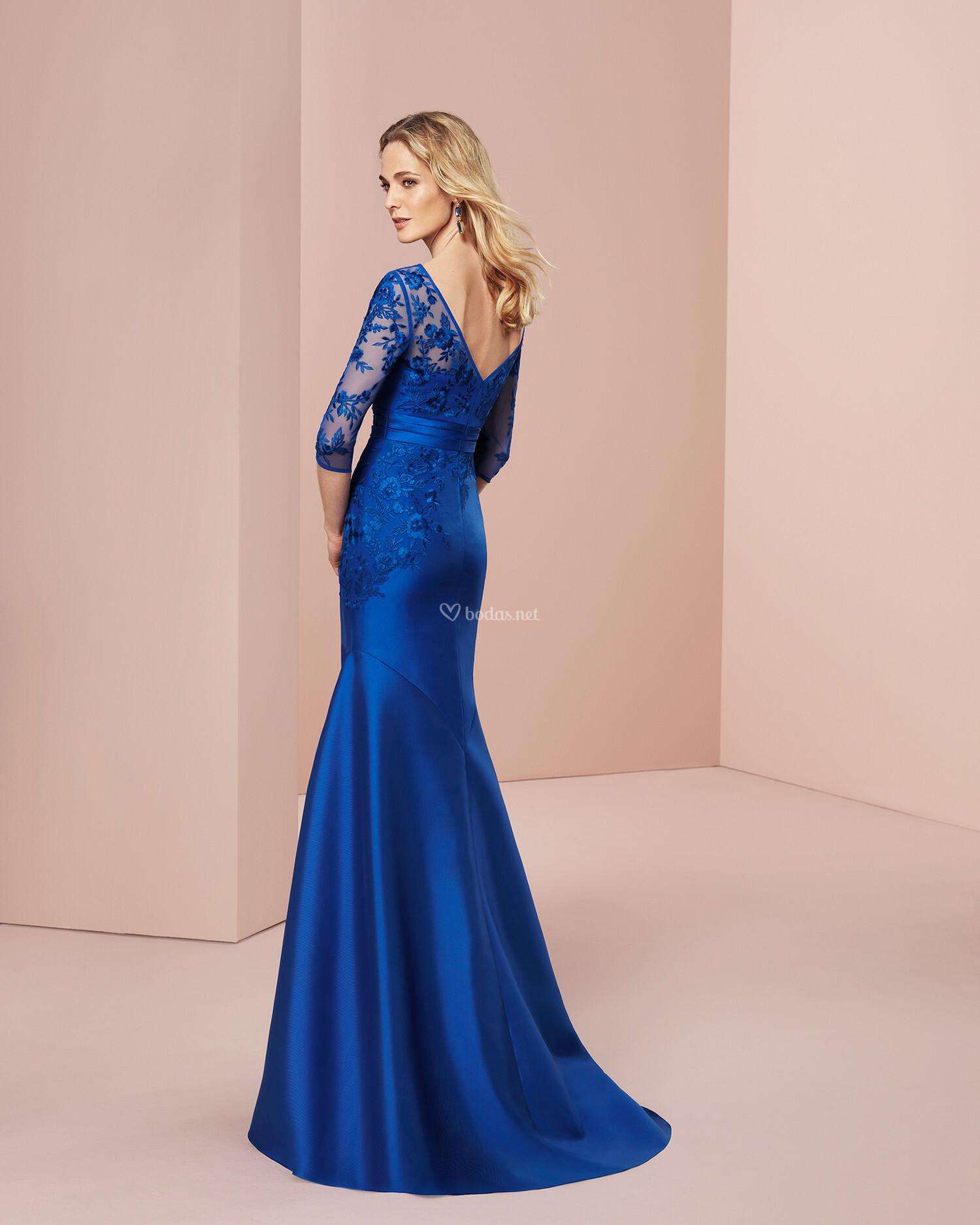 Asombroso Vestidos De Dama De Color Carmesí Composición - Ideas de ...