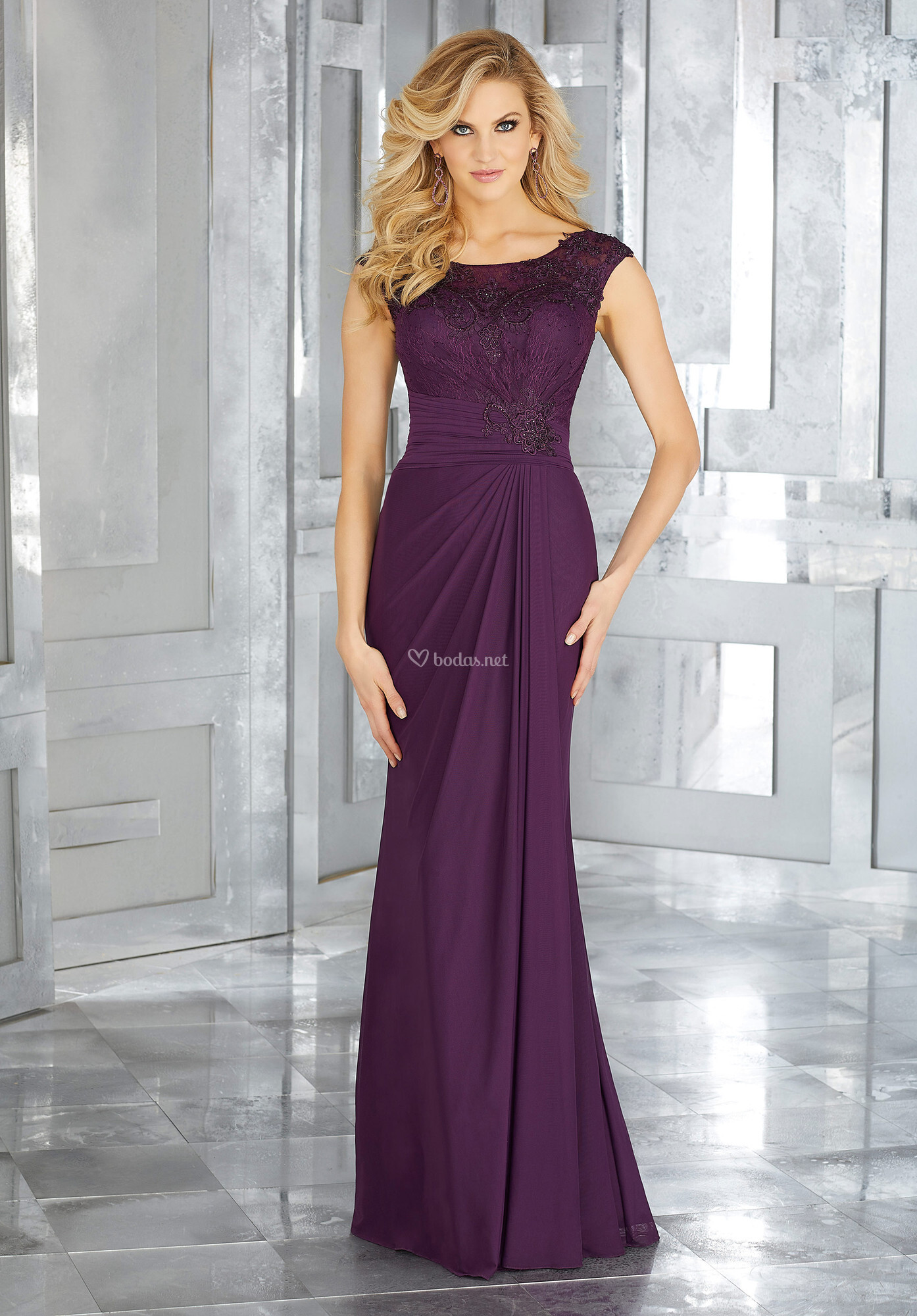Magnífico Vestido De Novia Pasadena Festooning - Ideas de Estilos de ...