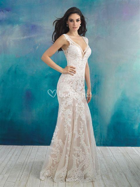 9513, Allure Bridals