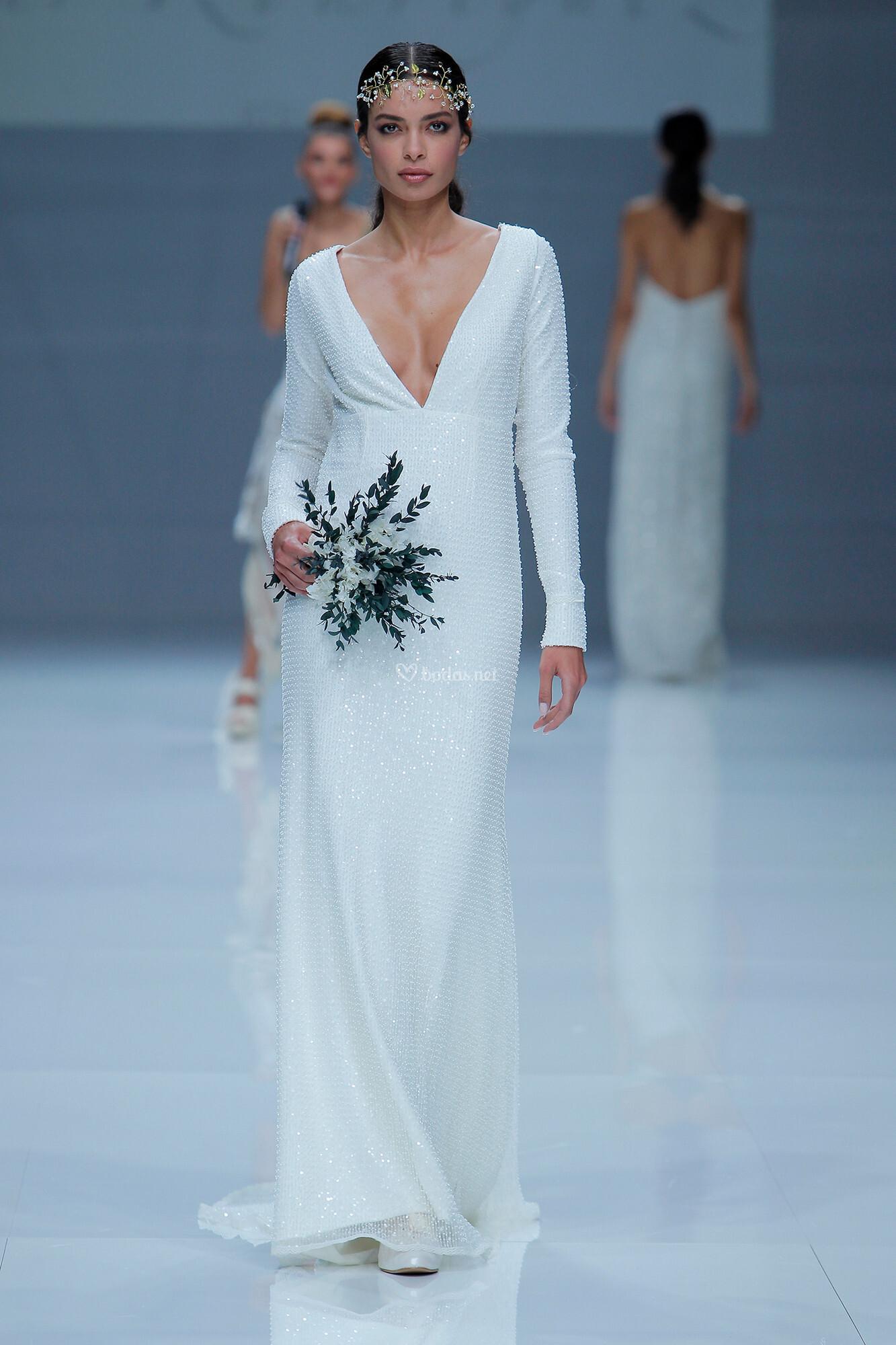 Vestido de Novia de Mar Rodríguez - MR 009