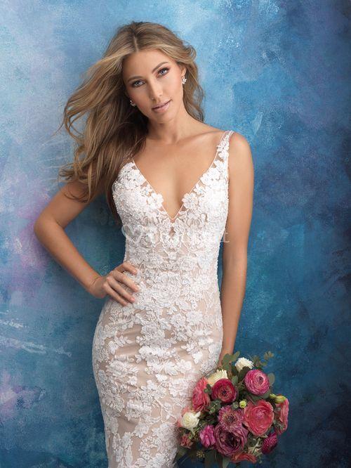 9556, Allure Bridals