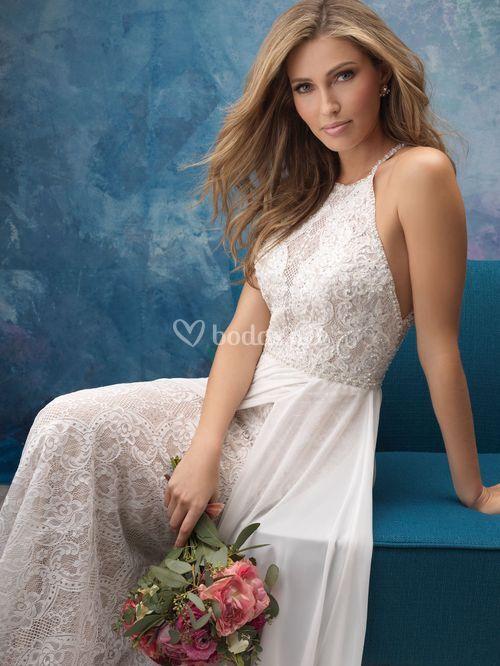 9573, Allure Bridals