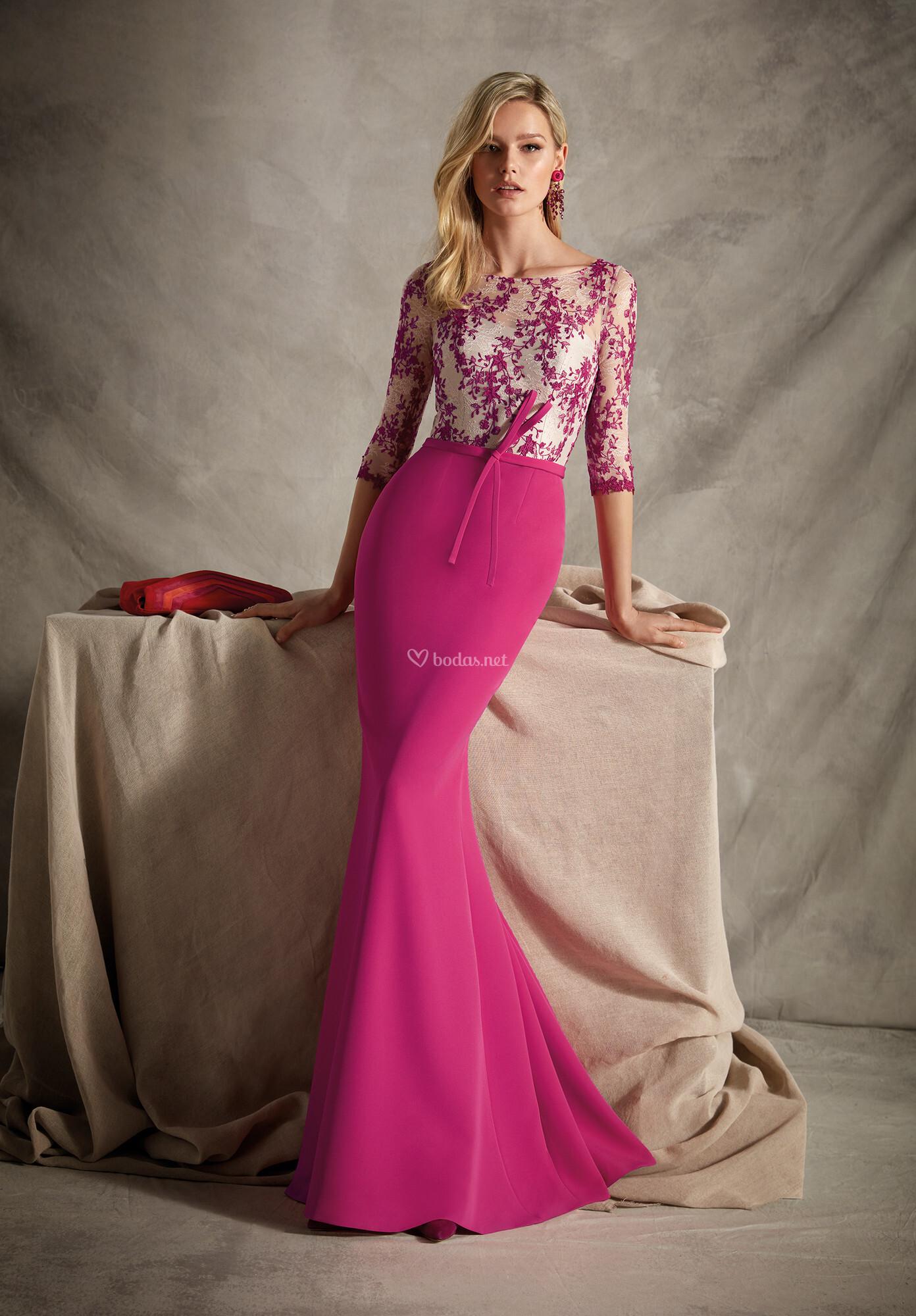 Vestido de Madrina de Esperanza García - E1306