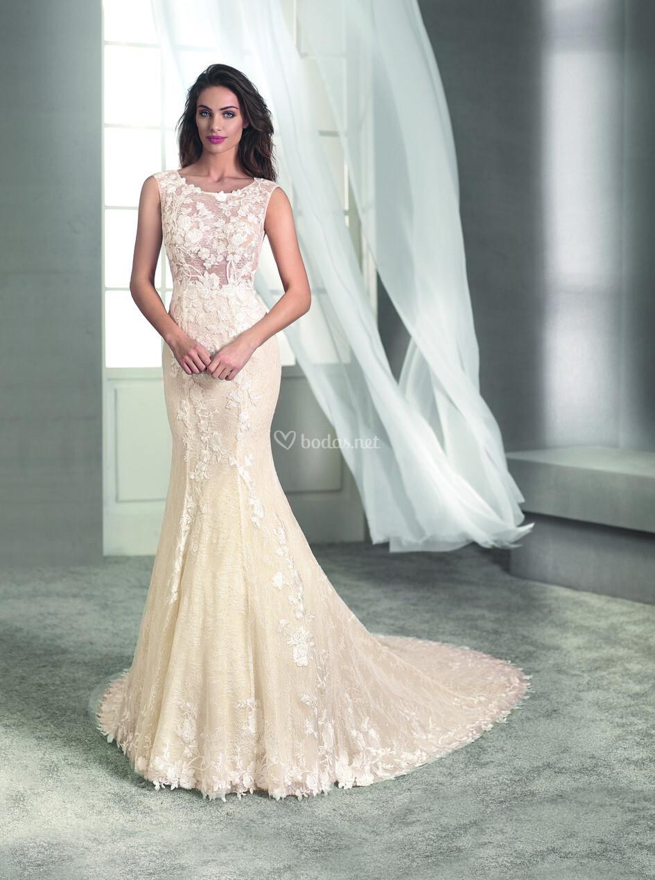 8e3a57814 Vestido de Novia de Novia d Art - BORI