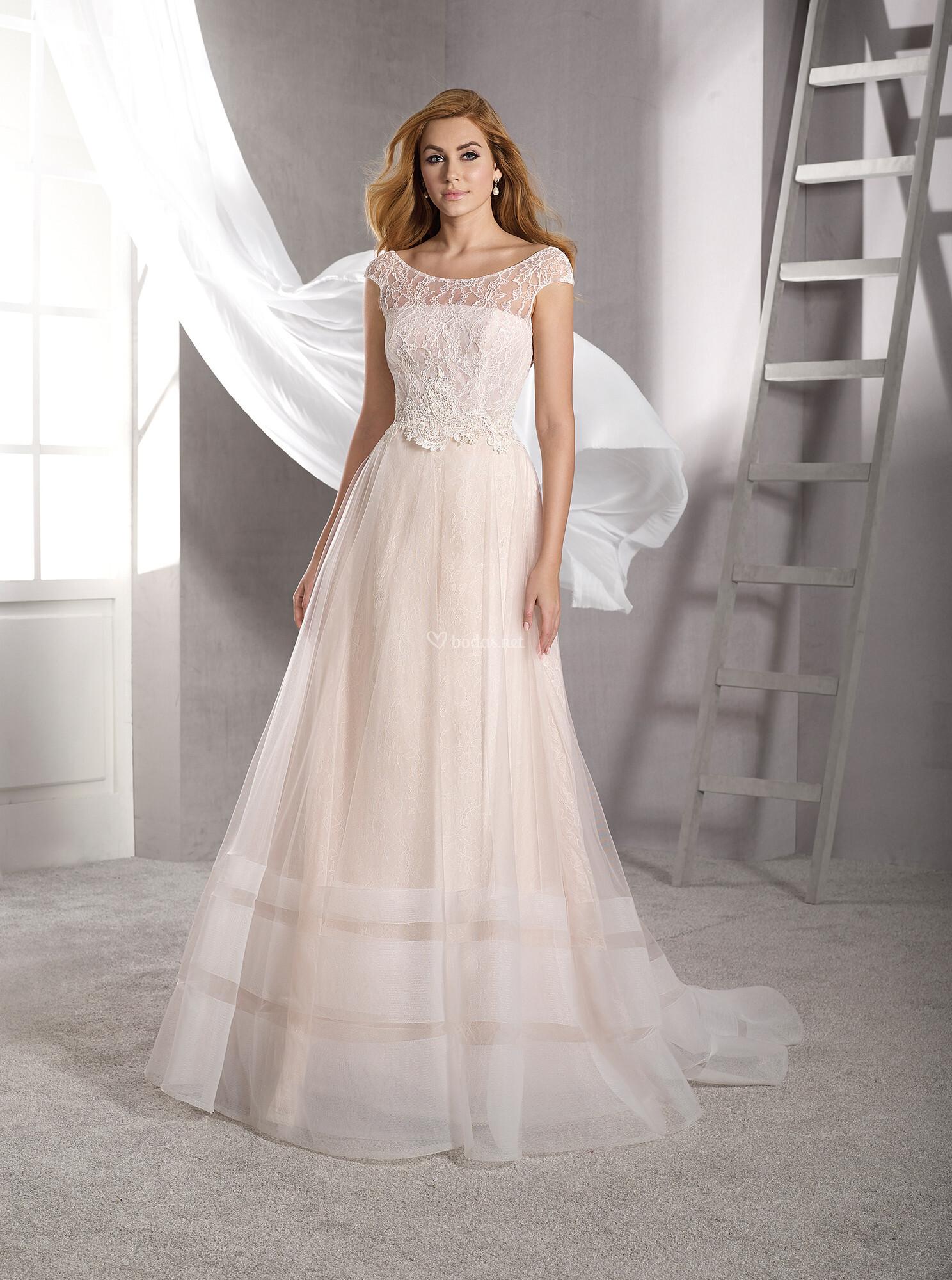 d553f3928 Vestido de Novia de Novia d Art - Ivanna