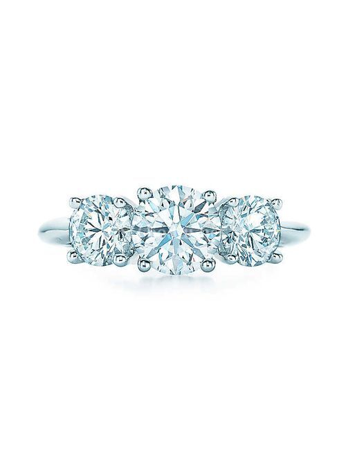 ROUND BRILLIANT THREE STONE, Tiffany & Co.