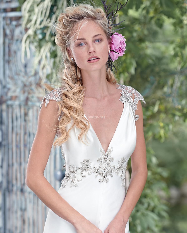 Encantador Costo Promedio De Los Vestidos De Novia Maggio Sottero ...