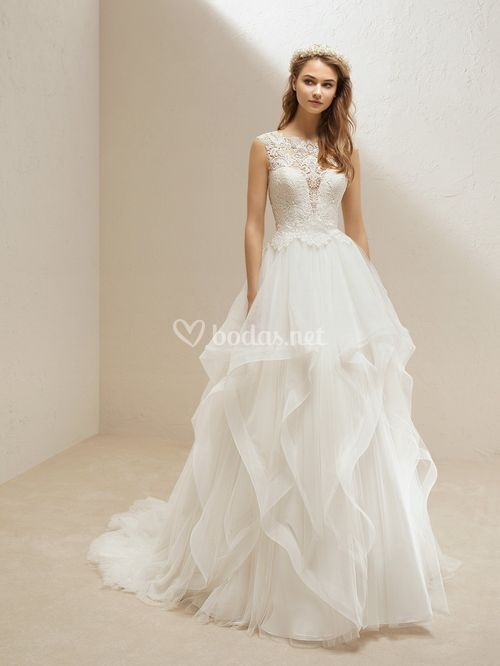 SKIRT UCARI / TOP UBERT, Pronovias