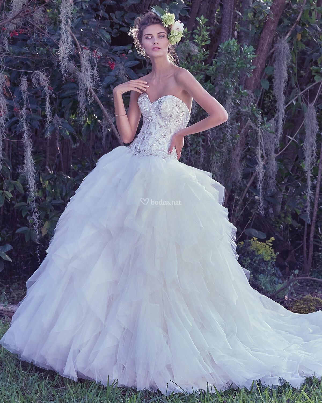 Old Fashioned Vestidos De Novia En Murcia Gallery - Womens Wedding ...