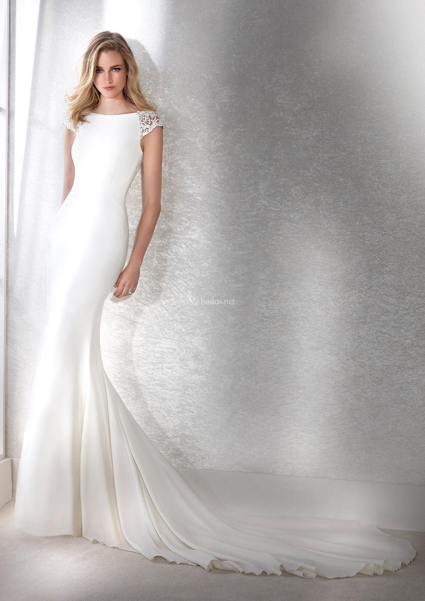 Vestidos corte sirena 2020 8