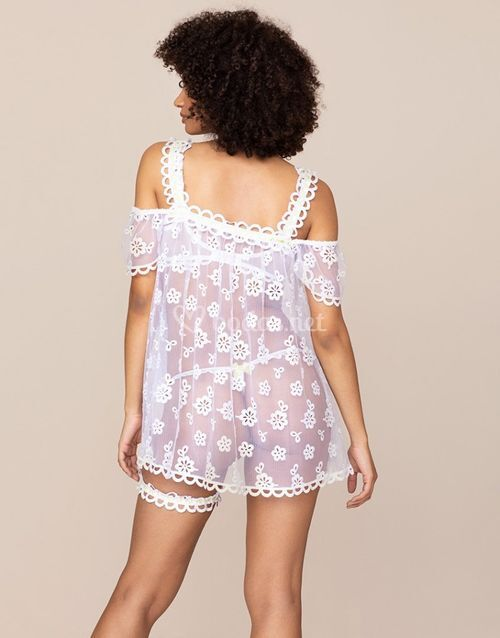 Laurelie Babydoll White and Lim, Agent Provocateur