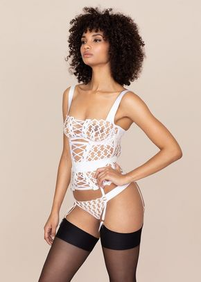 Kadra Waspie White And Nude, Agent Provocateur