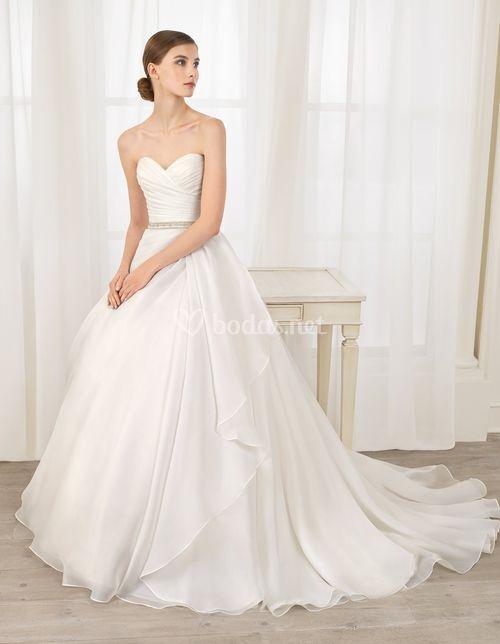 Vestido de Novia de Adriana Alier - 8N175 BRILLO