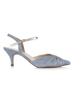 Stephanie Dusky Blue, Rachel Simpson Shoes