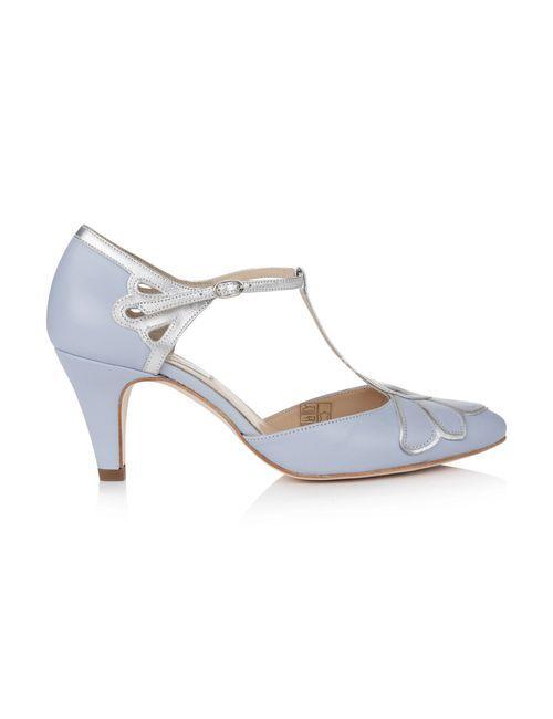 Gardenia II Blue, Rachel Simpson Shoes