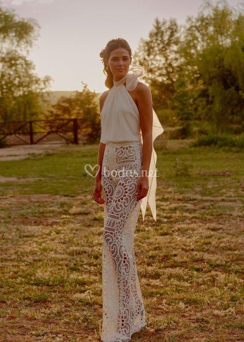 Top Megan / Pantalon Fiona, Oh Que Luna!