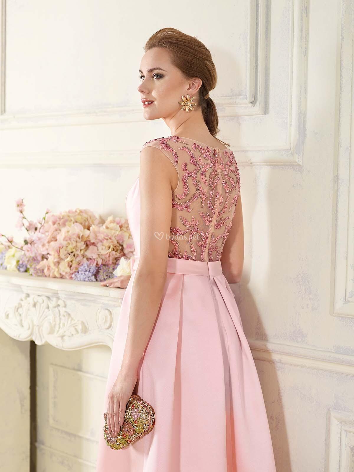 Vestido de Fiesta de Fara Sposa - 6040