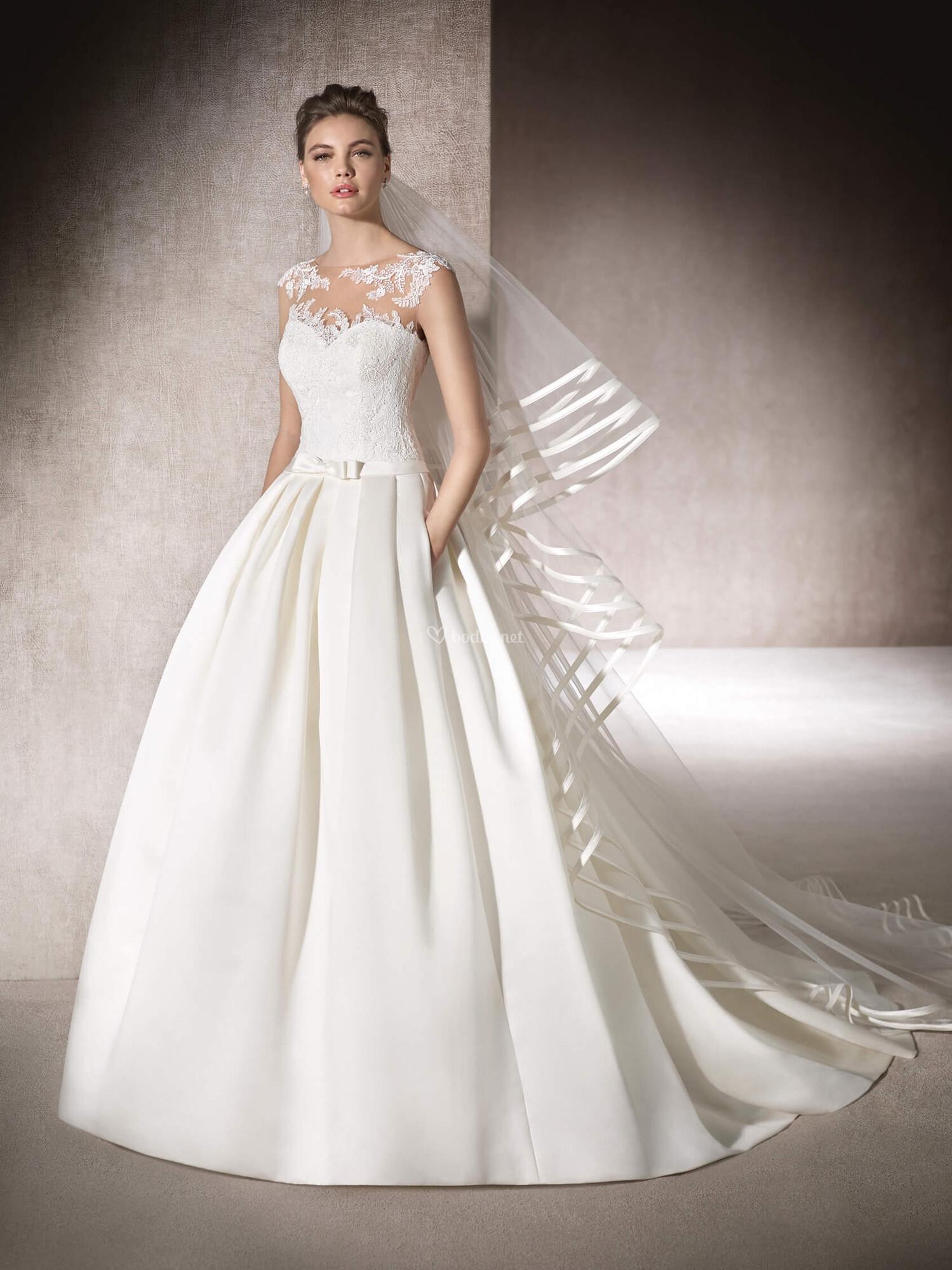 413326225 Vestido de Novia de St. Patrick - myrna