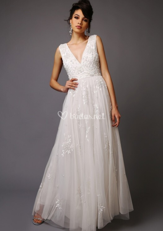 vestido de novia de virgos lounge - charlize