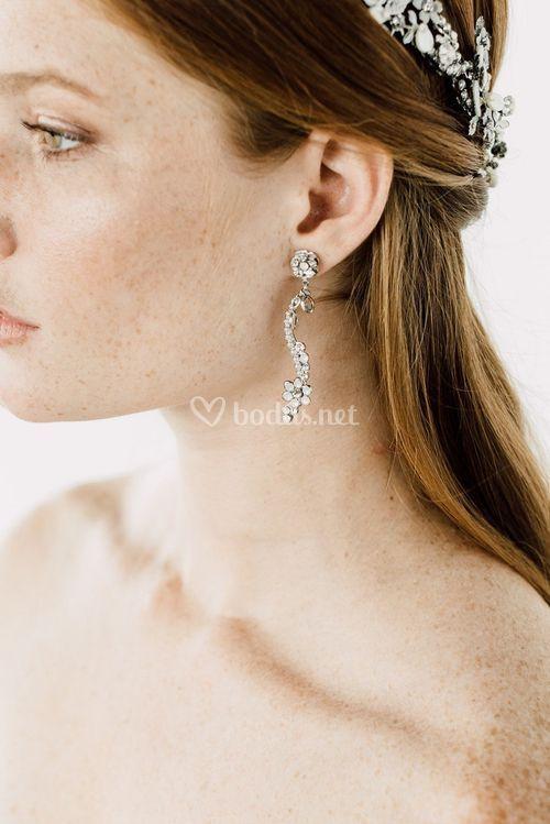 ZOLA EARRINGS, Maria Elena Headpieces