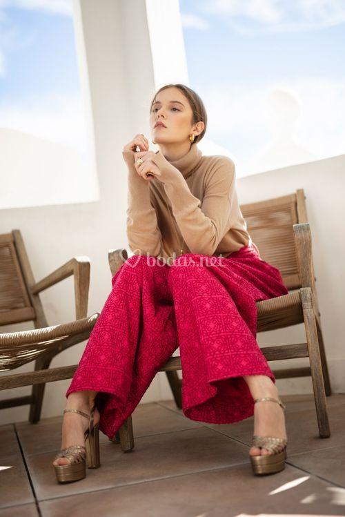 mexican pink pants, Michonet