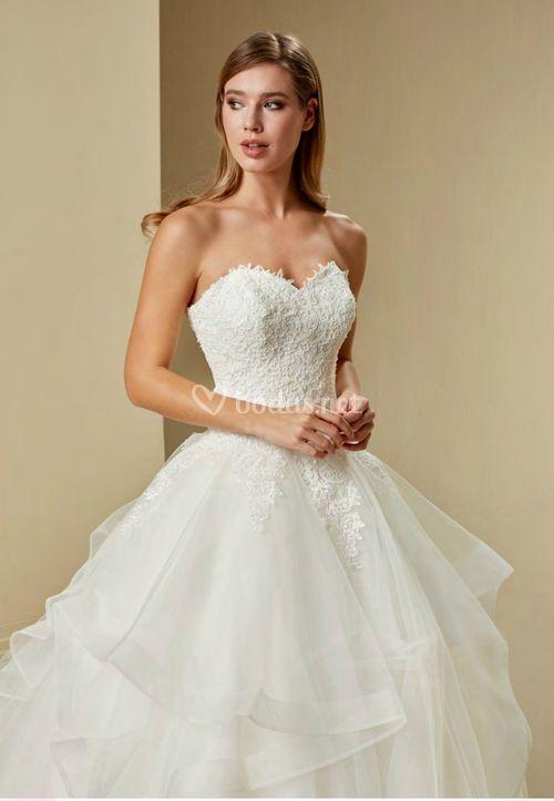 1134, Crystalline Bridals