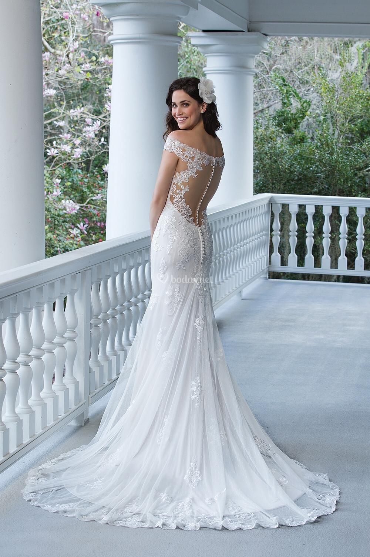 Vestido de Novia de Sincerity Bridal - 3938