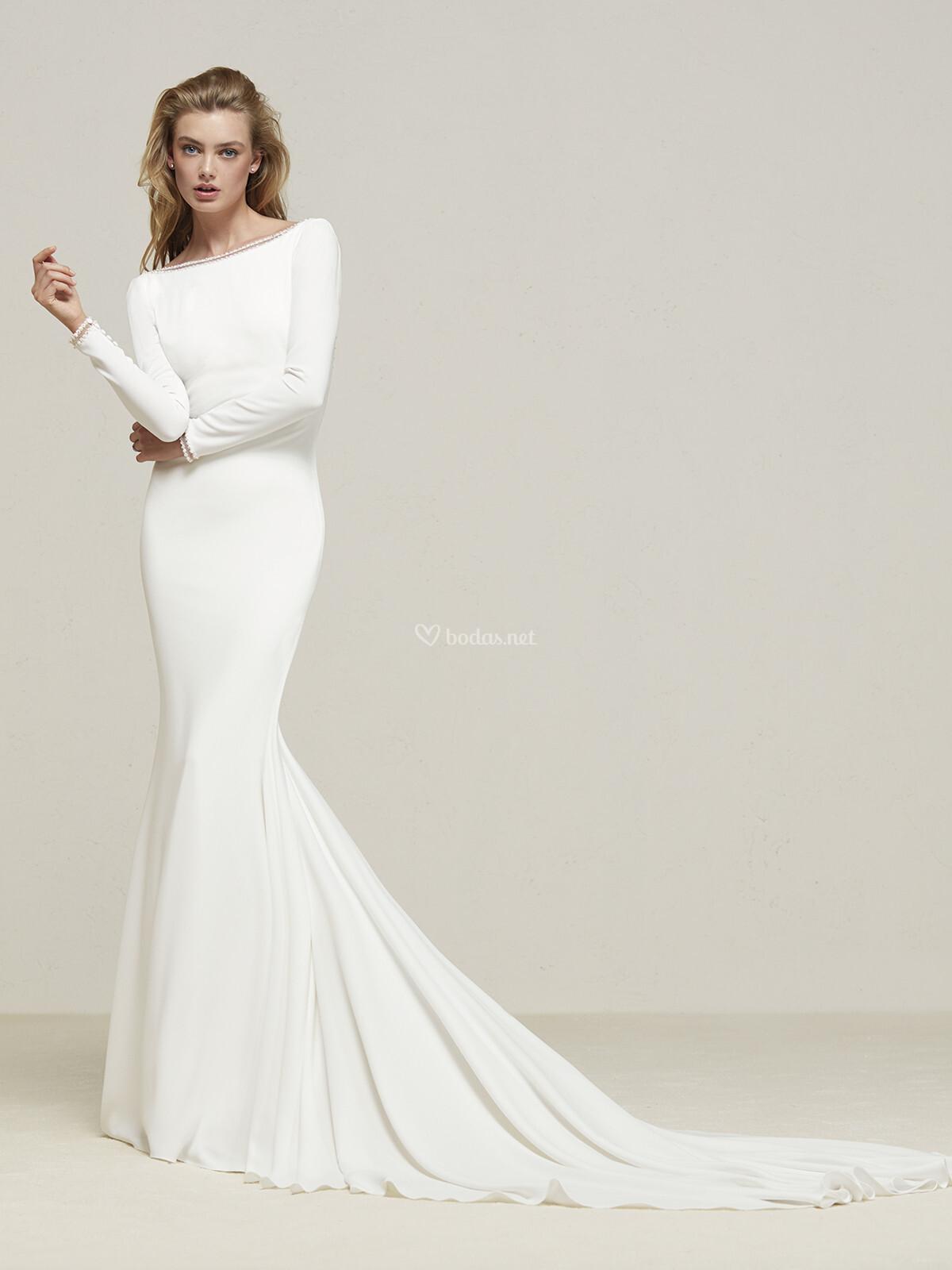df205178 Vestido de Novia de Pronovias - DRANA