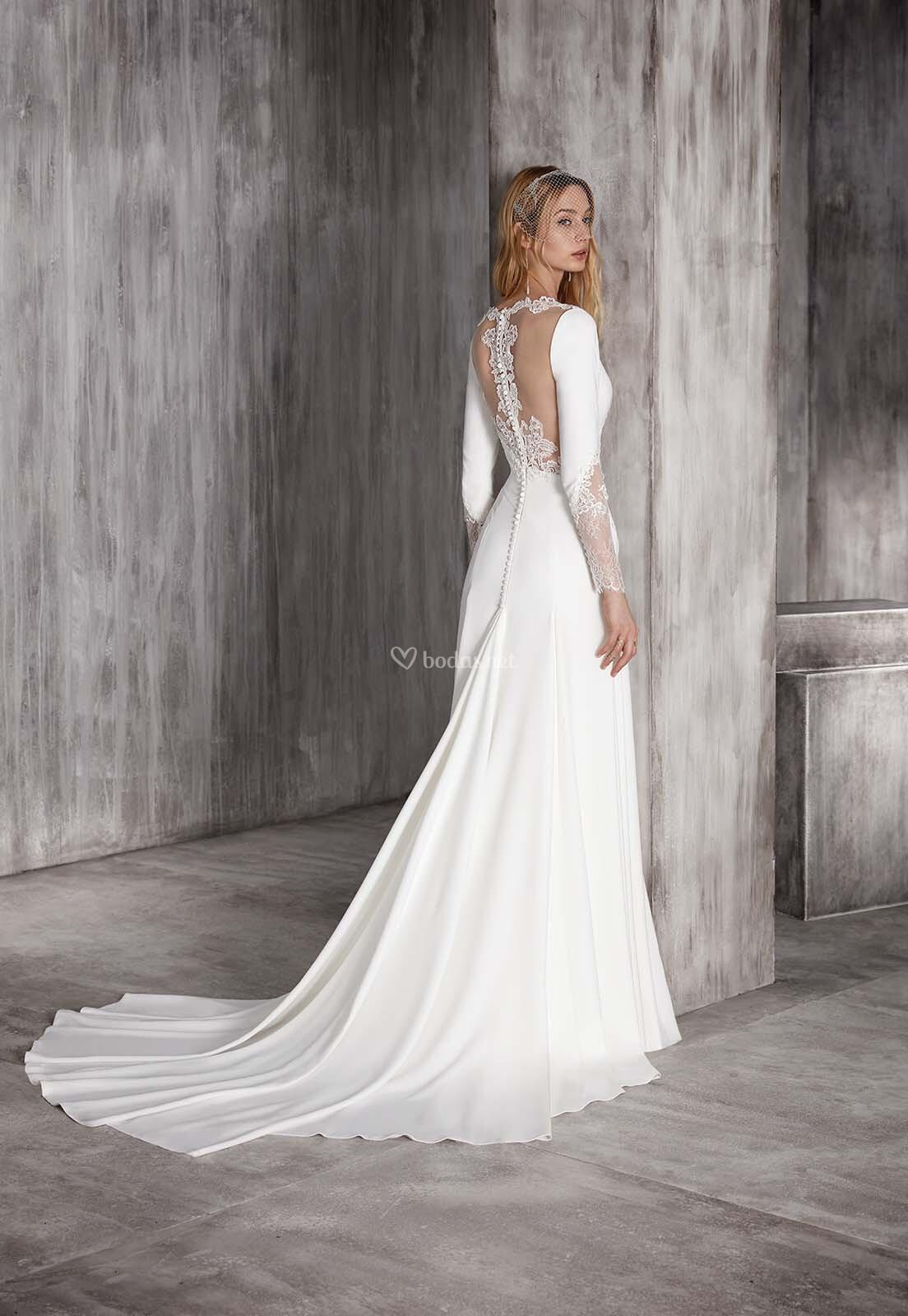 Vestido de Novia de Manu García - MIRRA