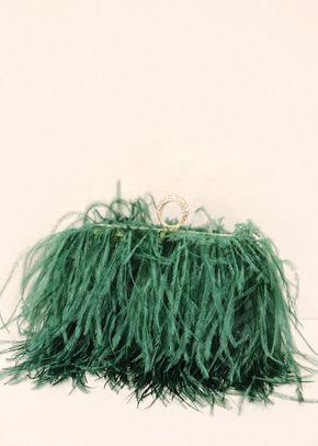 Bolso plumas avestruz, Boüret