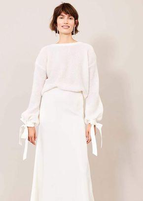 Bellini Knit Sweater, Kaviar Gauche