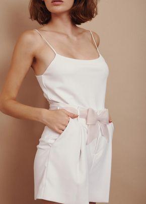 nude silk bow, 557